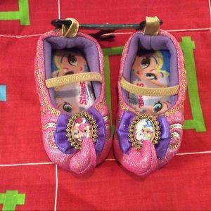 Shimmer Shine Toddler S 5-6 slippers